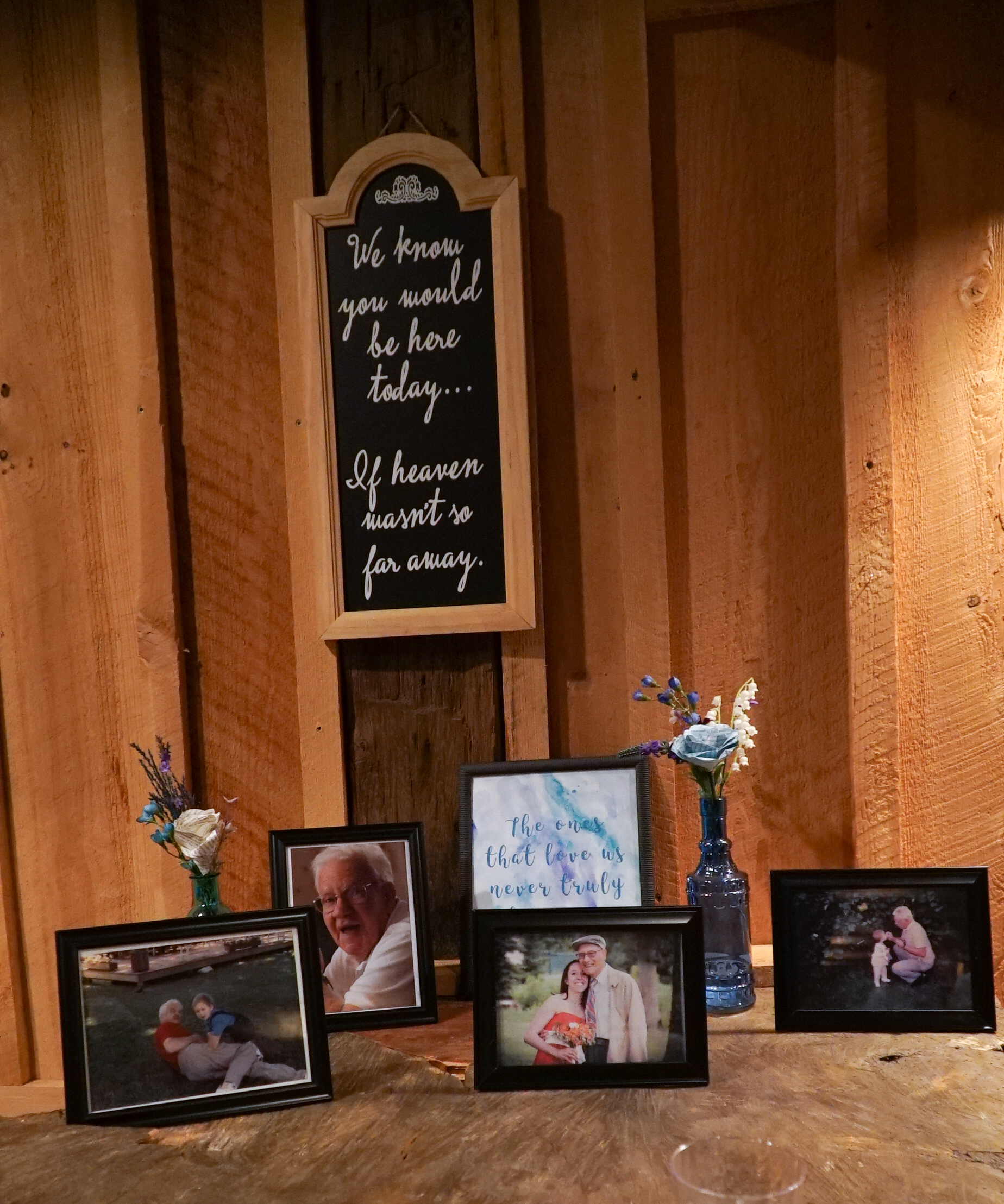Grandfather Memorial Table | cookingalamel.com