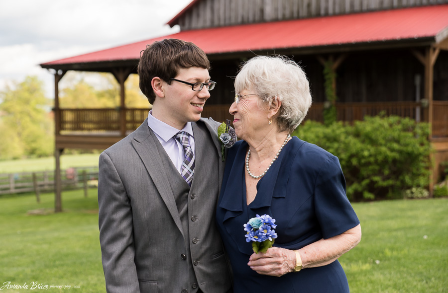 Grandmother and Groom | cookingalamel.com