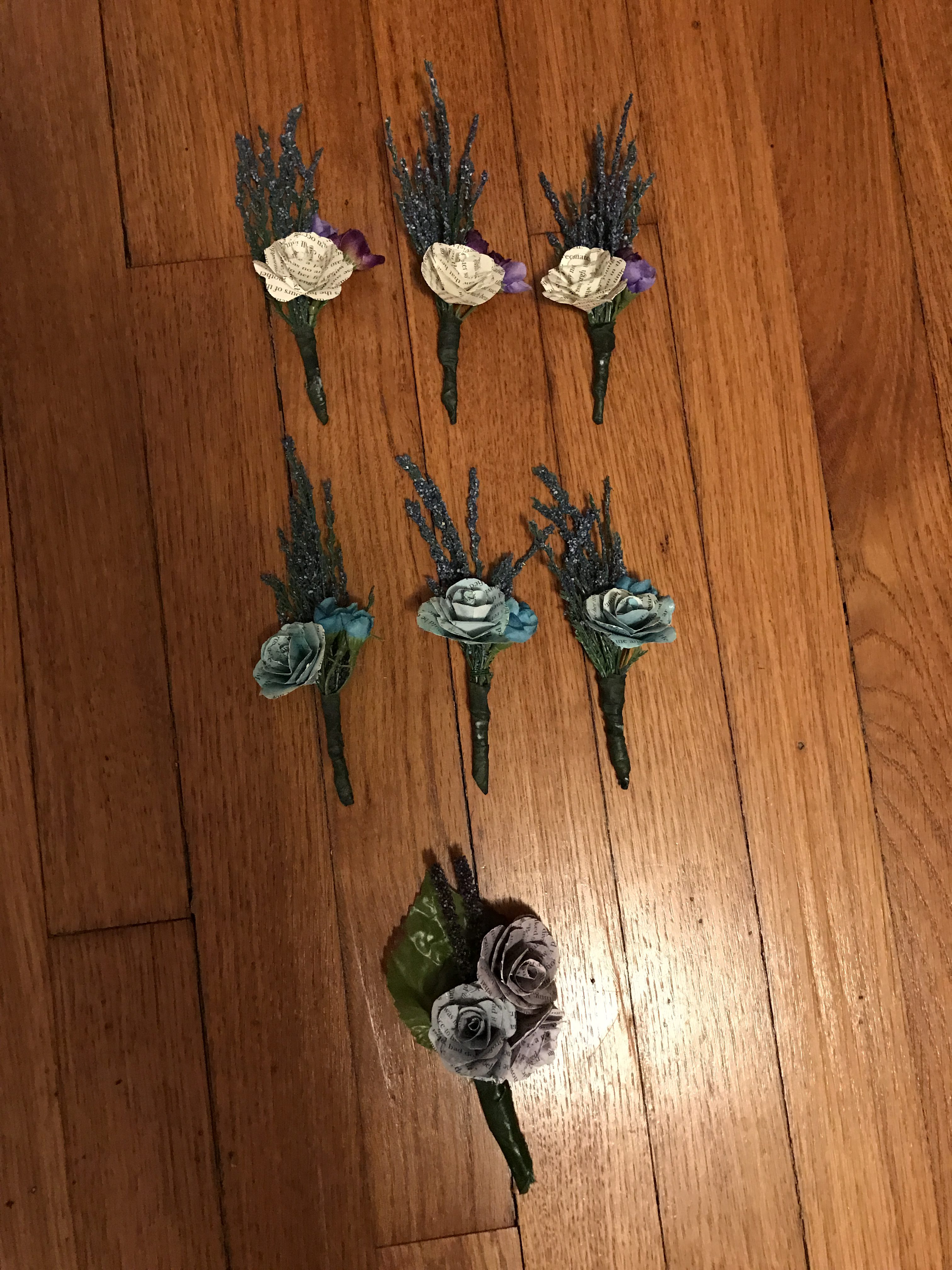 Wedding Boutonnieres | cookingalamel.com